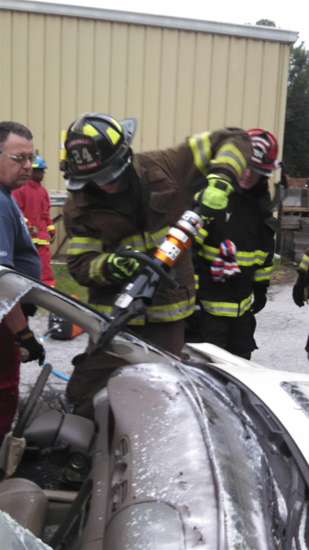 Training with Jaws of Life