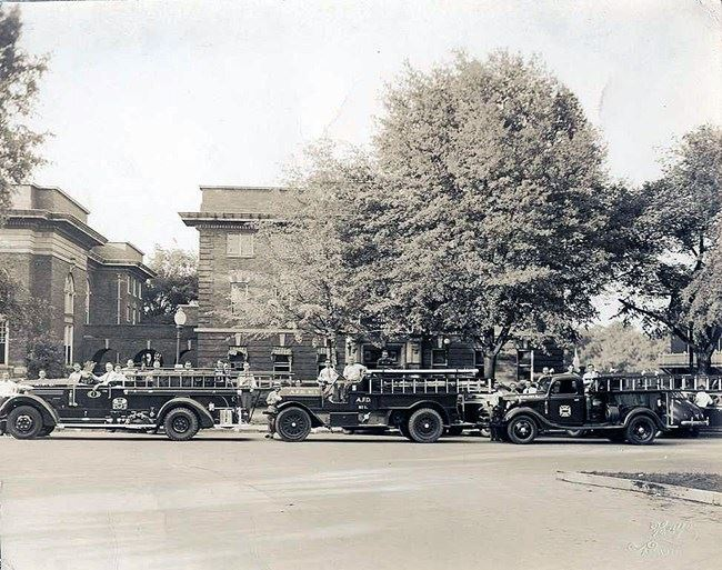 Historic Abbeville Fire Vehicles